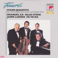Fauré: Piano Quartets - Yo-Yo Ma - Emanuel Ax - Isaac Stern - Jaime Laredo