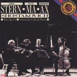 Shostakovich: Piano Trio & Cello Sonata (Remastered) [30 Years Outside The Box] - Yo-Yo Ma - Emanuel Ax - Isaac Stern
