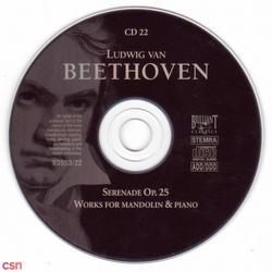 Serenade Op.25, Works For Mandolin & Piano - Beethoven