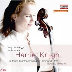 Elegy - Harriet Krijgh - Gustavo Gimeno - Deutsche Staatsphilharmonie Rheinland-Pfalz