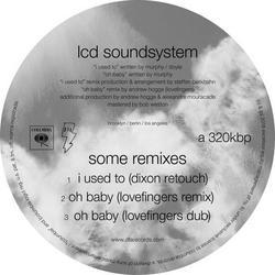Some Remixes (Single) - LCD Soundsystem