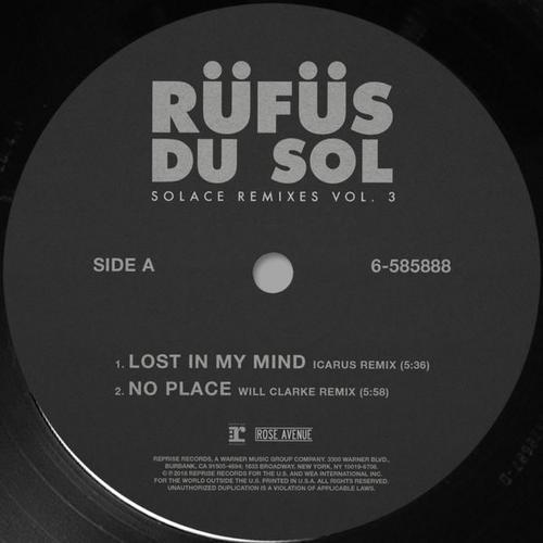 Solace (Remixes) (Vol. 3) - RÜFÜS DU SOL