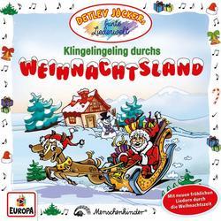 Klingelingeling durchs Weihnachtsland - Detlev Jöcker