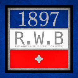 Red, White & Blue (Love It or Leave) - 1897