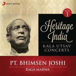 Heritage India (Kala Utsav Concerts, Vol. 1) [Live] - Pt. Bhimsen Joshi