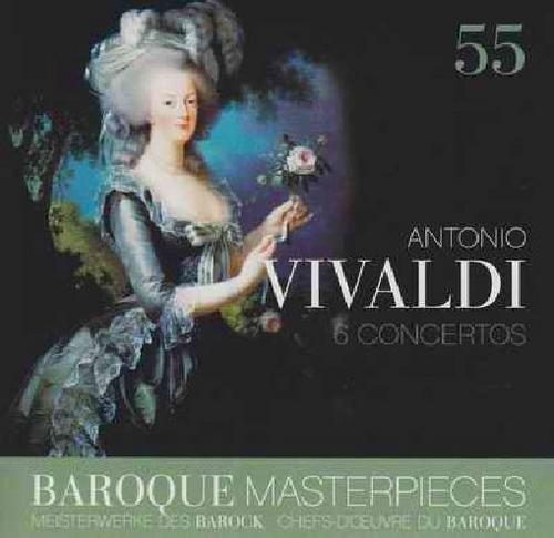 Baroque Masterpieces CD 55 - Vivaldi 6 Concertos (No. 1) - James Galway -  I Solisti Veneti