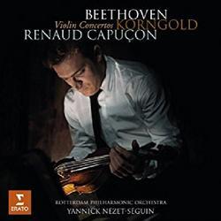 Beethoven, Korngold - Violin Concertos - Renaud Capucon -  Rotterdam Philharmonic Orchestra