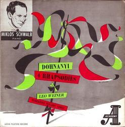 Dohnányi - Weiner - Miklos Schwalb