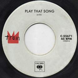 Play That Song (Single) - Train