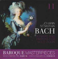 Baroque Masterpieces CD 11 - Bach Sonatas And Partitas For Solo Violin - Rudolf Gahler