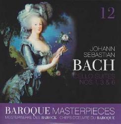 Baroque Masterpieces CD 12 - Bach Cello Suites - Guido Schiefen