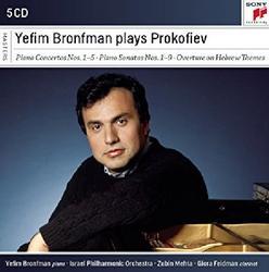 Yefim Bronfman Plays Prokofiev CD 3 - Yefim Bronfman - Zubin Mehta