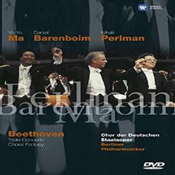 Beethoven - Choral Fantasy And Triple Concerto For Violin, Cello & Piano - Itzhak Perlman - Yo Yo Ma