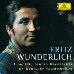 Complete Studio Recordings On Deutsche Grammophon CD 20 (No. 1) - Fritz Wunderlich